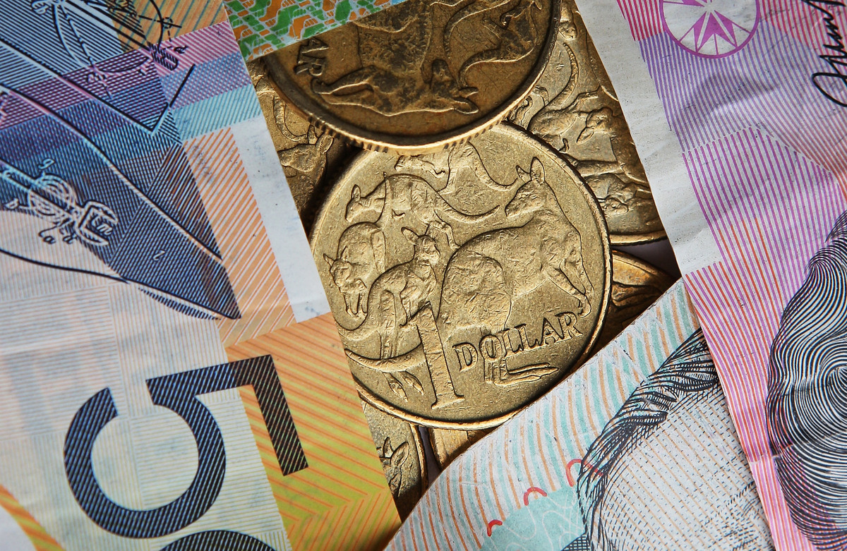 美元在美國非農就業數據公佈之後相對日圓貶值,這種行情推動了澳元相對美元升值。(Scott Barbour/Getty Images)