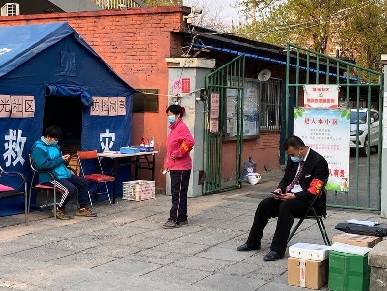 組圖:武漢解封 北京有小區封鎖提最高級別