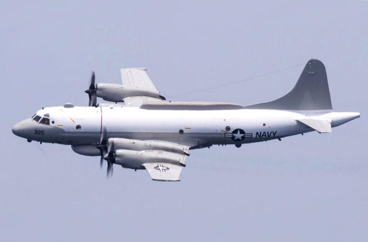 一架委內瑞拉戰鬥機被指於7月21日對在國際空域飛行的美國海軍EP-3白羊座II型偵察機(EP-3 Aries II)進行長時間盯梢。圖為EP-3白羊座II型偵察機(公有領域)
