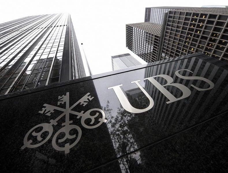 圖為瑞士銀行(UBS)在紐約的大廈。 ( TIMOTHY A. CLARY/AFP/Getty Images)