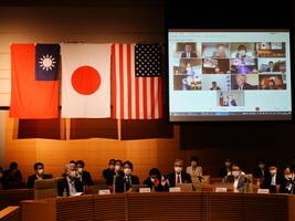 台美日戰略論壇 籲強化三邊關係聯合抗共