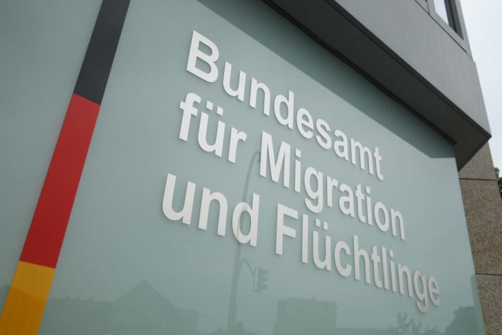 《世界報》2020年2月16日引用官方數據顯示,中國公民在德國申請政治庇護的人數增加了一倍。圖為位於柏林的德國聯邦移民難民局。(Sean Gallup/Getty Images)
