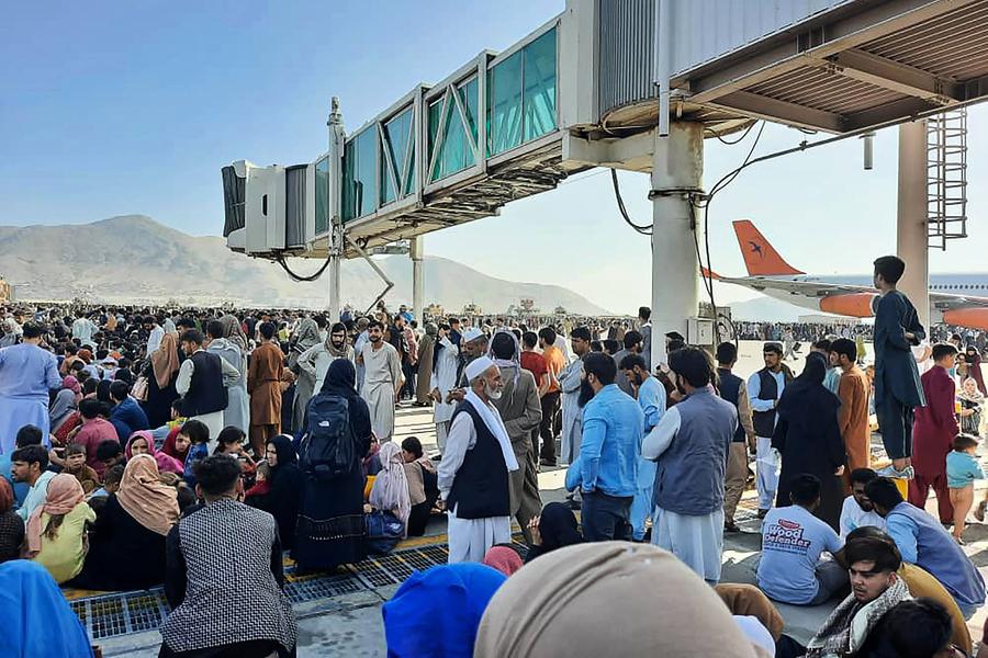 超60國發聲明 要求確保阿富汗人和外國人撤離