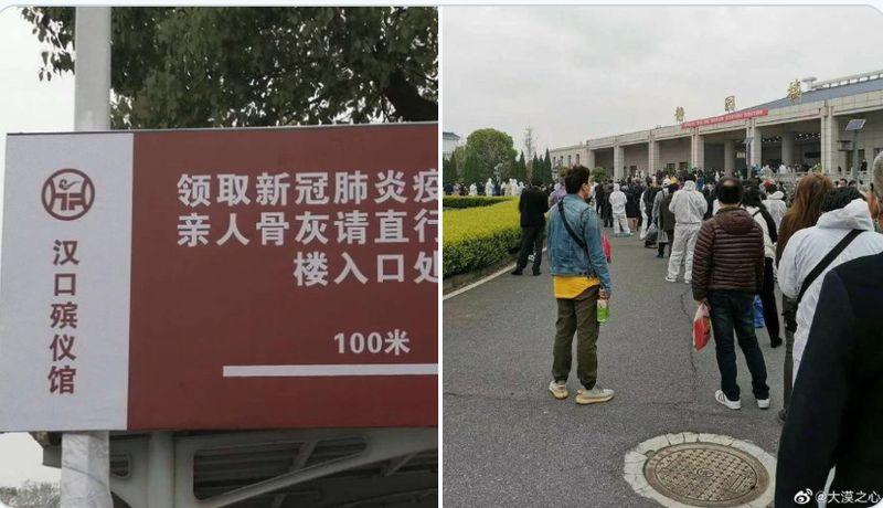 中共肺炎自去年底在武漢爆發,由於中共各級政府隱瞞真相,致疫情全球大流行。(網絡圖片)