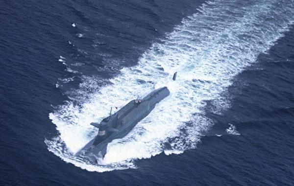 中共在南海建立多個人工島礁,作為其核子動力潛艦的軍事基地。(AFP/AFP via Getty Images)