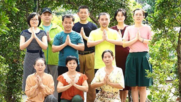 泰國曼谷文曲星法輪功學員恭祝師尊新年快樂。(明慧網)