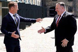 蓬佩奧訪丹麥:中共在各方面都構成威脅