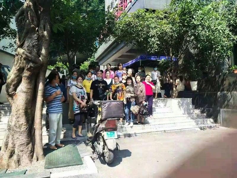 重慶訪民向中央督導組伸冤遭拘捕
