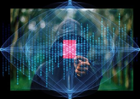 黑客示意圖。(Pixabay)