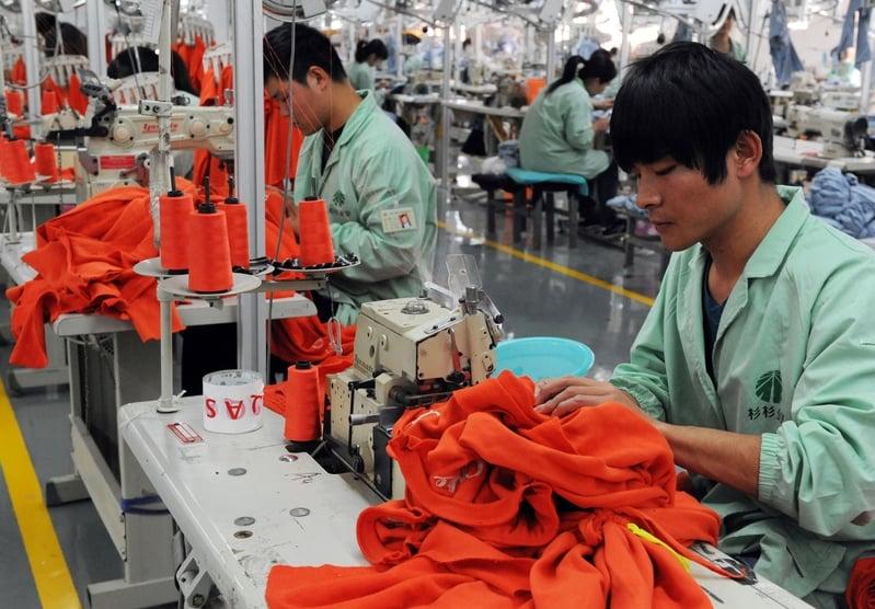 大陸服裝業利潤下滑29% 利潤率僅3.88%