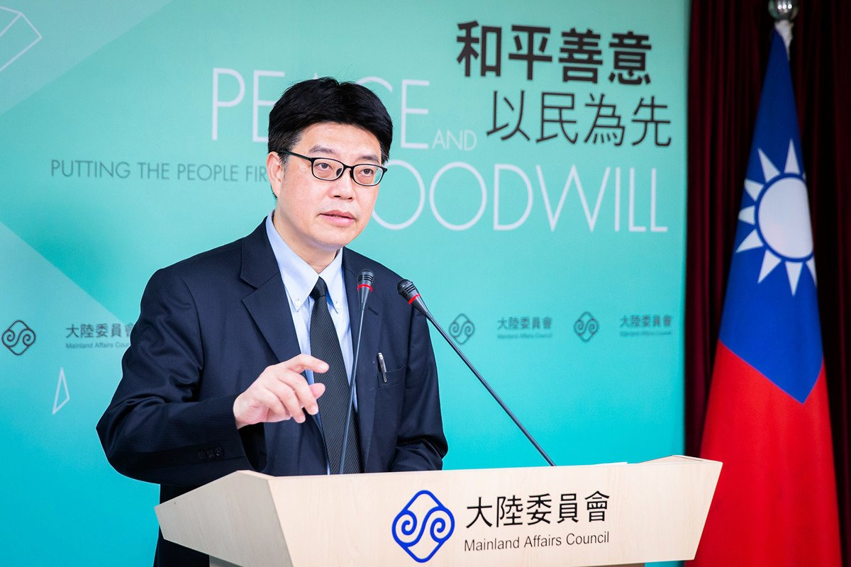 中華民國陸委會副主委邱垂正,資料照。(陳柏州/大紀元)