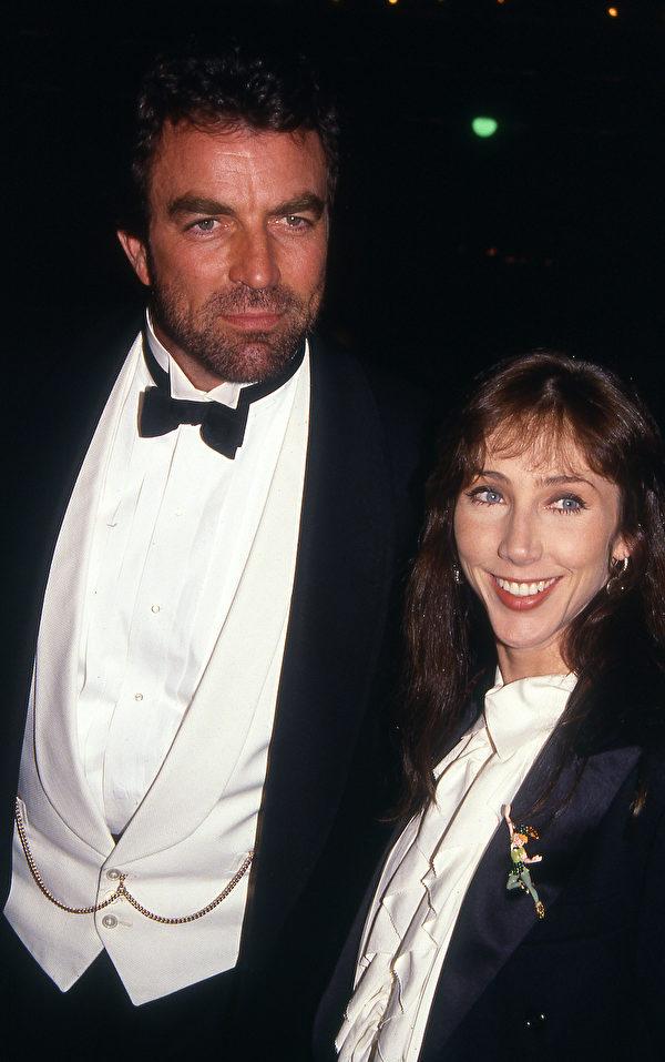 塞萊克和麥克,攝於1990年。(Vicki L. Miller/Shutterstock)