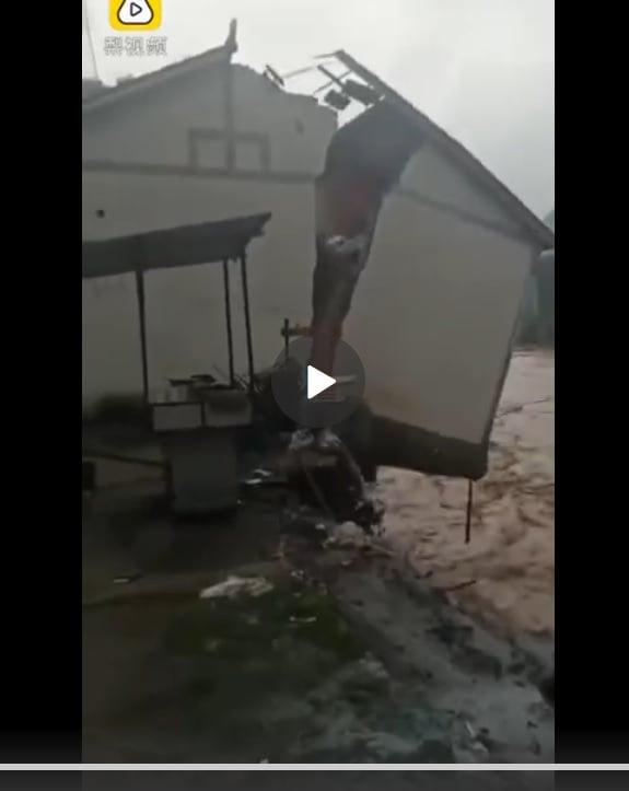 三峽大壩上游汛情蔓延 雲南昭通洪災嚴重