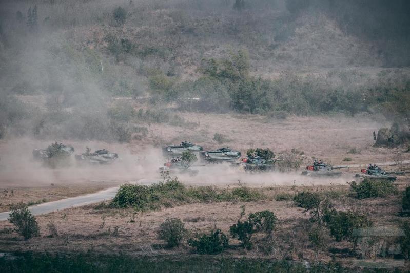 中共實彈軍演之際 台灣三軍舉行聯合作戰訓練