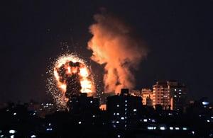 哈馬斯在耶路撒冷騷亂後向以色列發射火箭彈