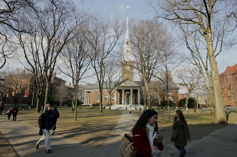 冬日的耶魯大學。(Joe Raedle/Getty Images)