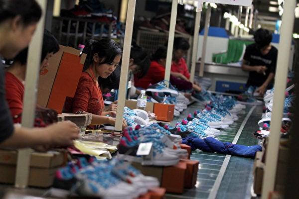 寶成湖北廠關閉,四千餘人失業。圖為資料照。(AFP)