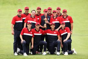 高爾夫球盛會 美國19:9大勝歐洲