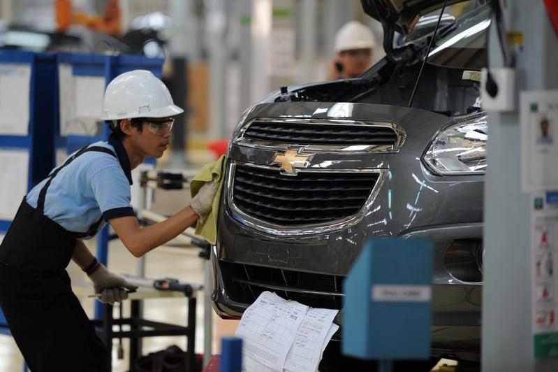 全球晶片短缺 加拿大部份車廠停產