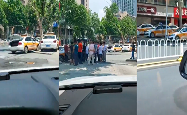 【現場影片】傳武漢江岸區的士司機罷工