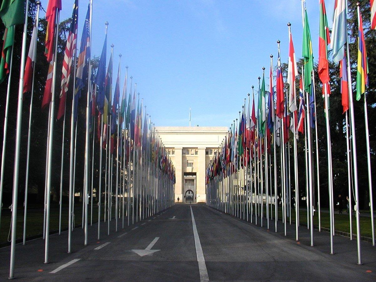 圖為日內瓦聯合國大樓。(大紀元圖庫)