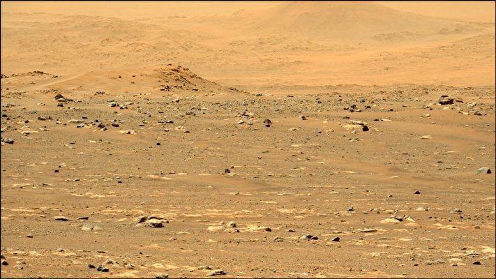 這張照片是由「毅力號」(Perseverance)上配備的Mastcam-Z相機「左眼」拍攝,通過公眾投票被選為「毅力號」火星任務第6周的「每周圖片」。(NASA/JPL-CALTECH/ASU)