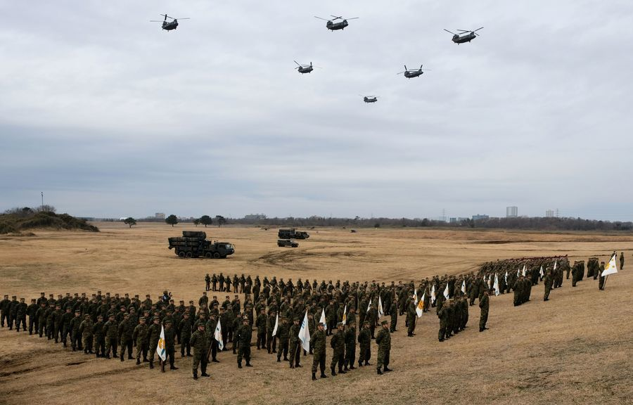 防守與那國島 日本自衛隊擬派電戰部隊進駐