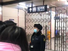 兩會期間北京地鐵故障臨時停車 網民抱怨