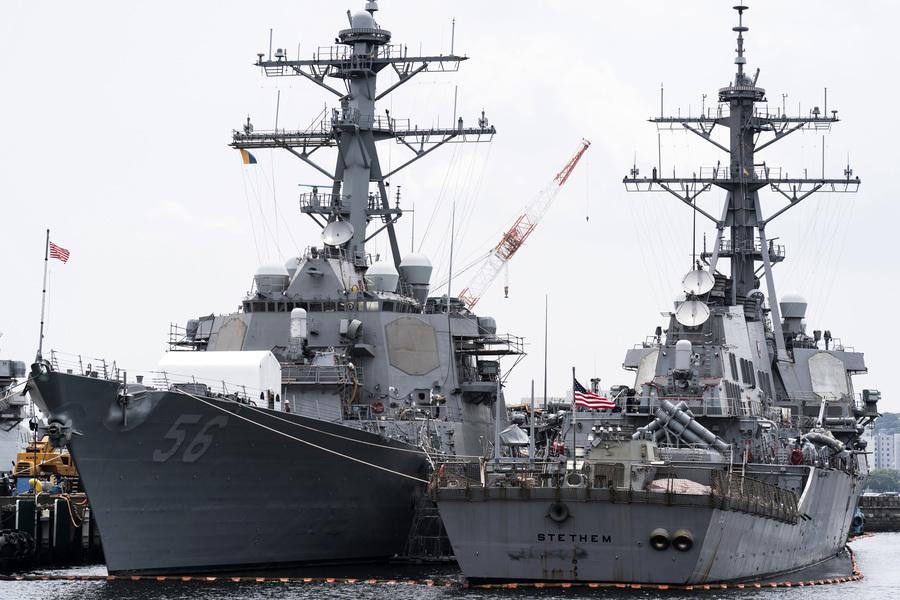 拜登首派艦過台灣海峽 魯比奧:向中共釋信號