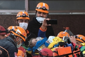 再傳奇蹟 土耳其3歲童被埋91小時後獲救