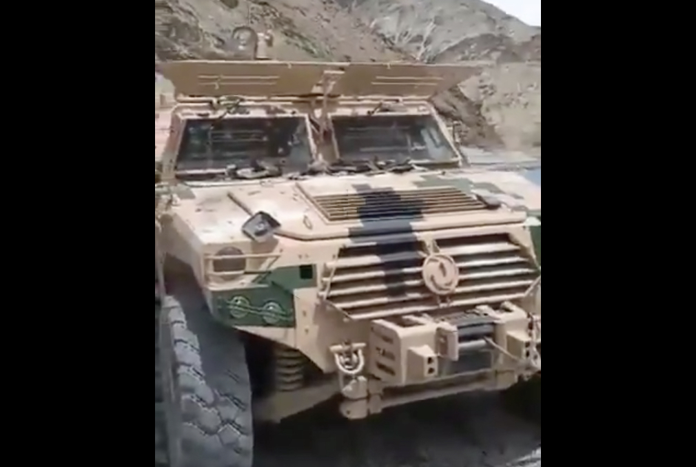 中共傳出軍車腐敗案,並導致兩高層落馬。(影片截圖)