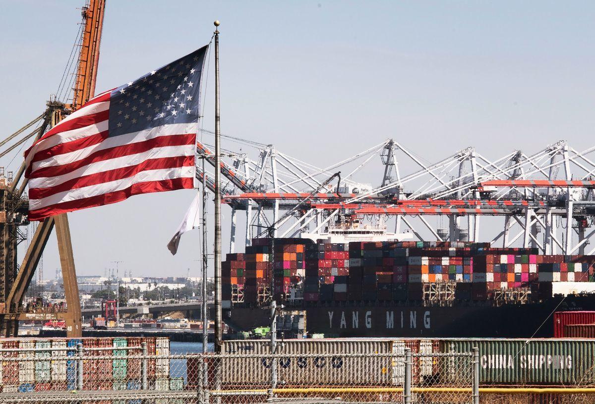 專家稱,美國大選後對華貿易政策將更趨一致。圖為示意圖。(MARK RALSTON/AFP/Getty Images)