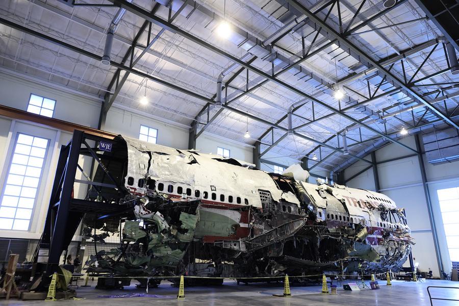 美環球航空800號墜機殘骸即將被銷毀