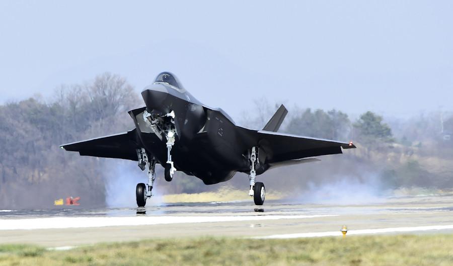 南韓空軍短片展示 F-35戰機摧毀北韓導彈