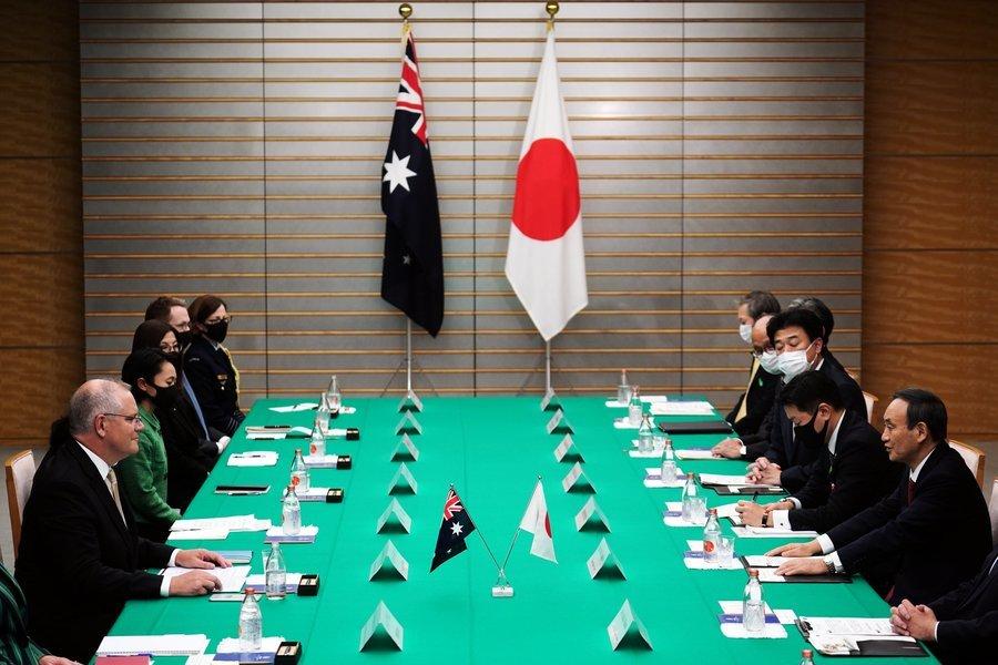 日本大使:我們同處一條船 澳日美聯手抗共