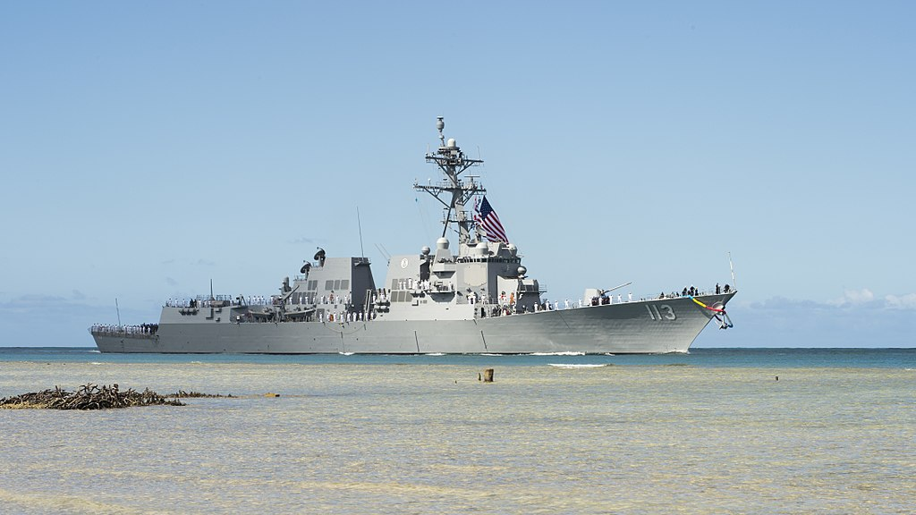 拜登上任來第三次 美軍驅逐艦穿越台海