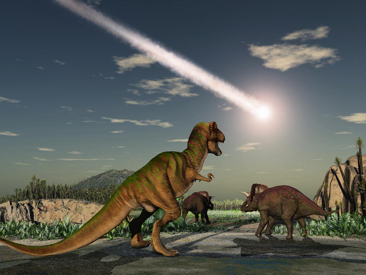 新研究發現確鑿證據,認為關於恐龍滅絕的調查終於可以結案了。(ShutterStock)