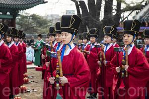 南韓春季釋奠大祭 古禮紀念孔子