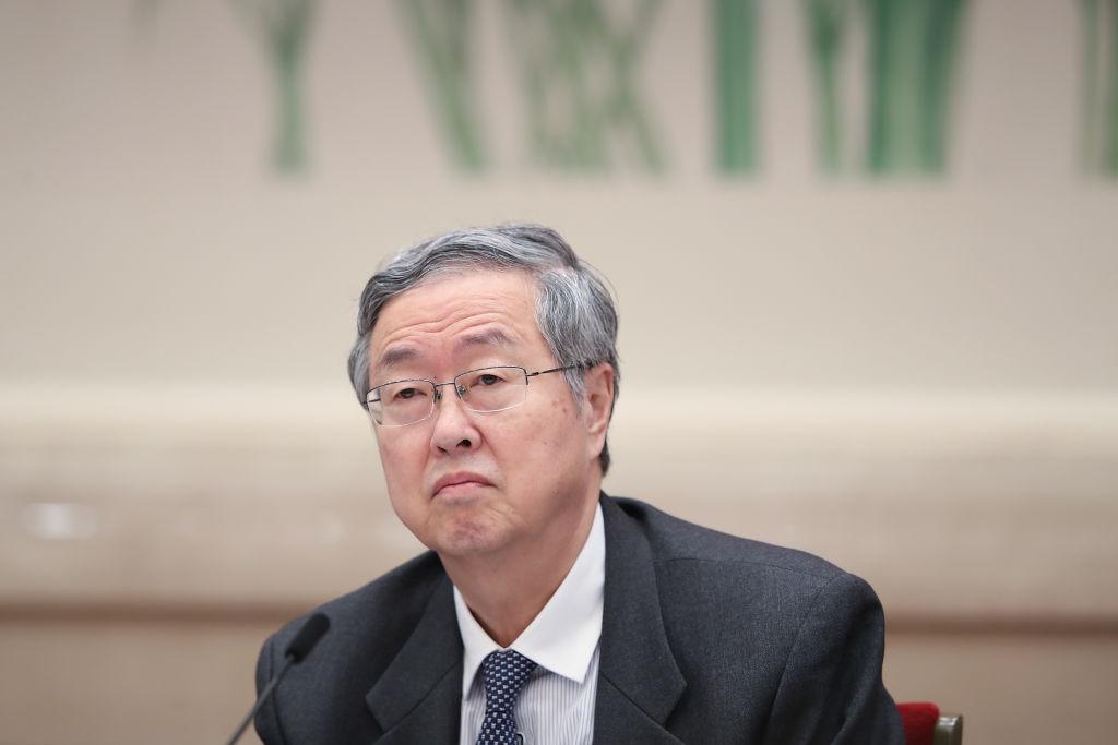 中國央行前行長周小川近日在接受外媒採訪時,否認國家層面強制技術轉讓,但指地方層面存在漏洞。這一半否認半承認的表態引發關注。(Getty Images)
