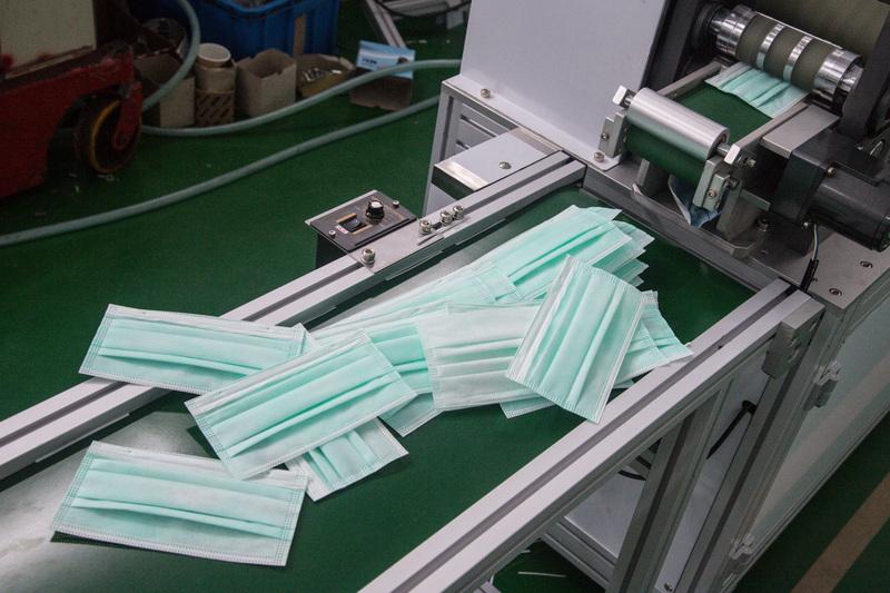 中華民國外交部表示,基於國際人道援助將捐贈1,000萬片口罩。(中央社)