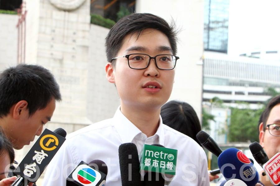 香港民族黨前召集人陳浩天說,2019年香港超過200萬人站出來抗爭,談到人心,中國(共)已經永遠失去香港的人心了。圖為陳浩天資料照。(蔡雯文/大紀元)