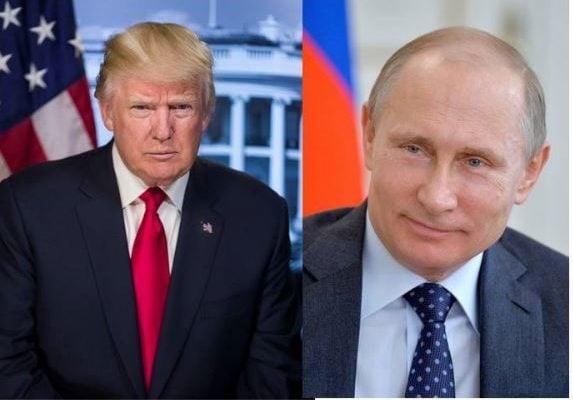 美國總統特朗普和俄羅斯總統普京。(大紀元合成圖)
