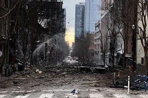 美納士維爆炸前 離奇廣播促民眾撤離