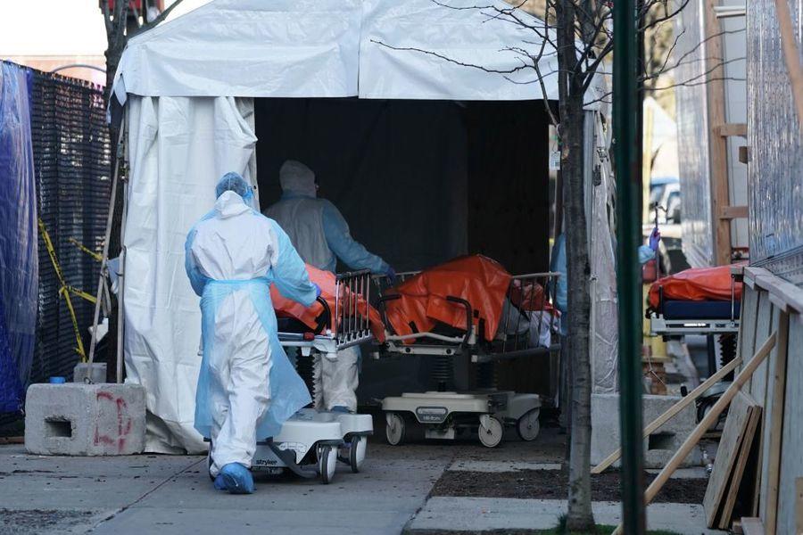 紐約疫情初期 華裔染疫病人住院死亡率最高