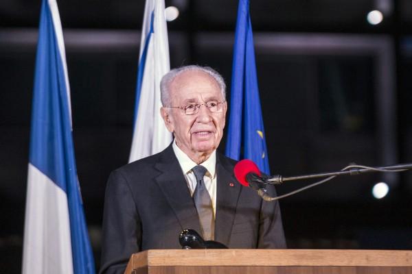以色列前總統佩雷斯病逝 曾獲諾貝爾和平獎