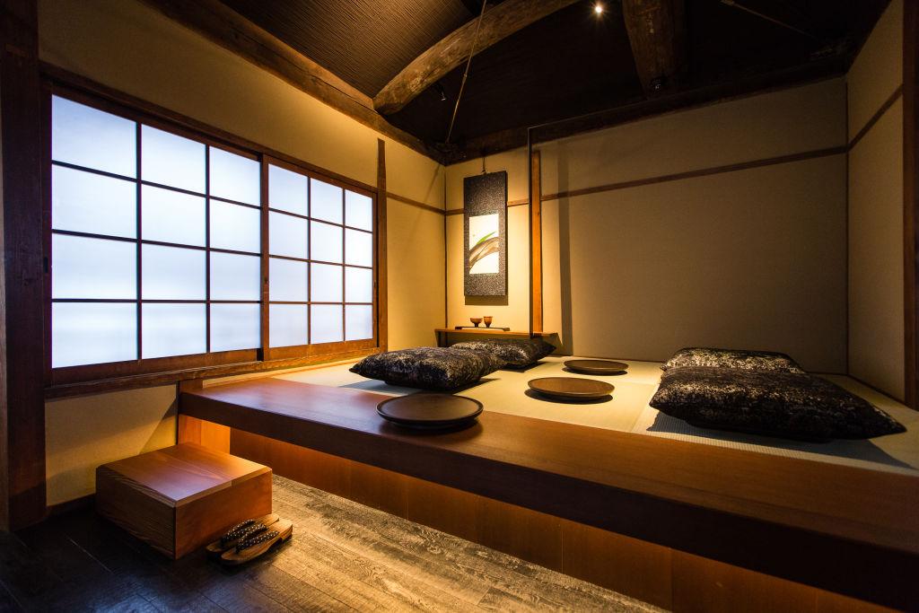 位於京都的一家日本茶屋。(Christopher Jue/Getty Images)