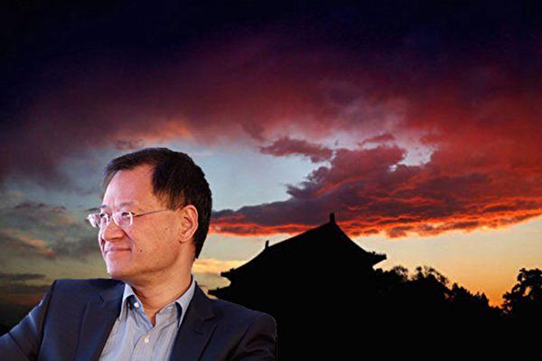 清華大學前法律系教授許章潤,北京大學法學院教授賀衛方、張千帆等六人發起聯署,呼籲中共釋放耿瀟男夫婦。圖為許章潤教授。(新唐人電視台合成圖)