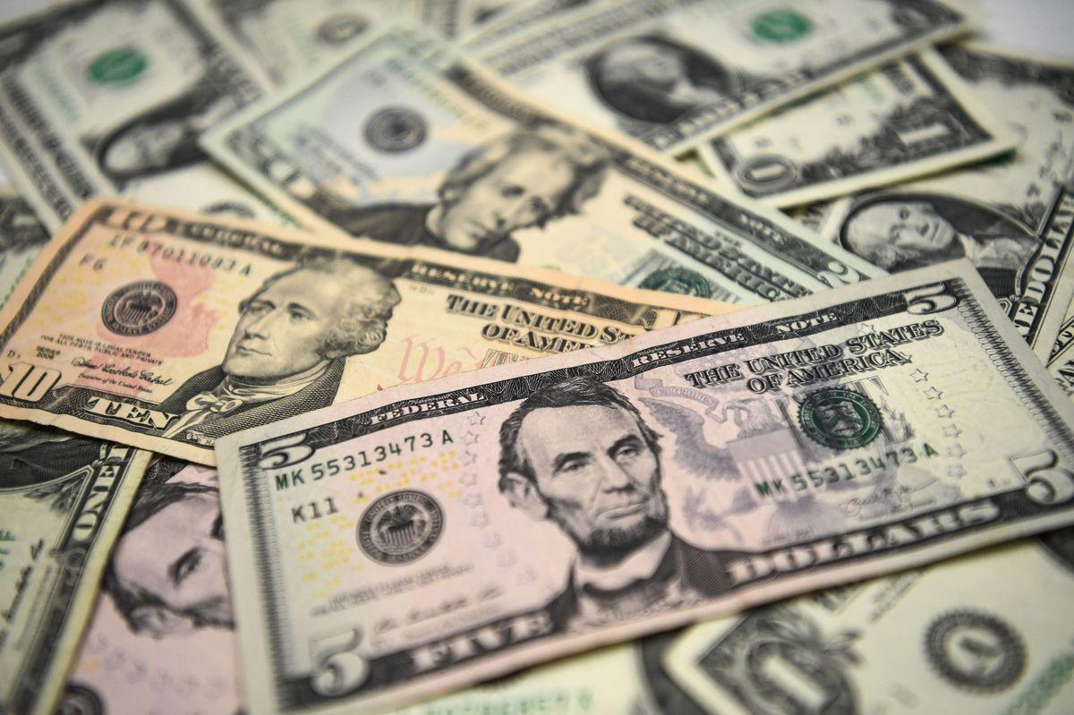 美元示意圖。(Getty Images)