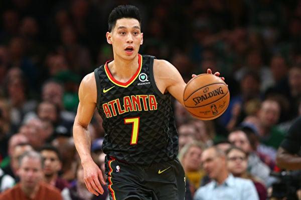 近日美國華裔男籃明星林書豪(Jeremy Lin)毅然做出了入籍台灣的選擇。林書豪資料照(Maddie Meyer/Getty Images)。