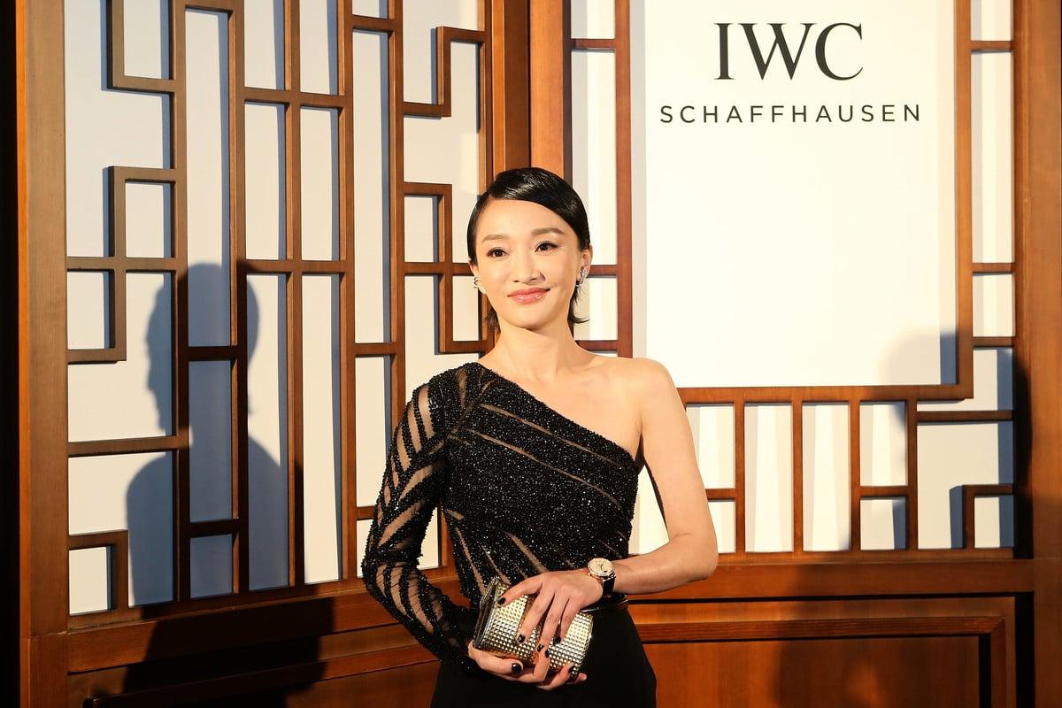大陸女星周迅資料照。(Emmanuel Wong/Getty Images for IWC)